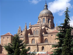 Cathedral at Salamanca